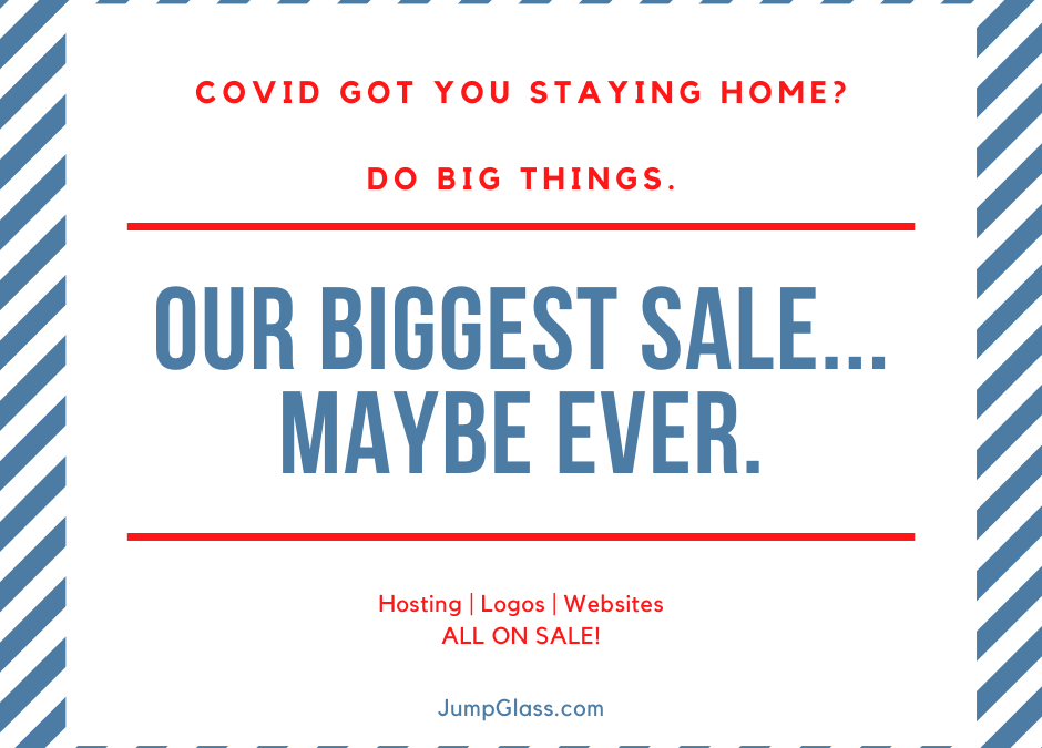COVID Specials: Hosting for only $1 and MORE!